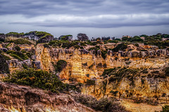 Praia do Castelo (_Rjc9666_) Tags: cliff seascape portugal landscape nikon 21 coastline algarve 510 hdr albufeira praiadocastelo nikon1855 d5100 ©ruijorge9666