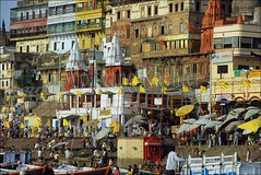 30083617 (wolfgangkaehler) Tags: people india river asian boats boat asia holy rivers varanasi riverfront ganges localpeople gangesriver holyplace holyplaces magicplaces holyriver varanasiindia
