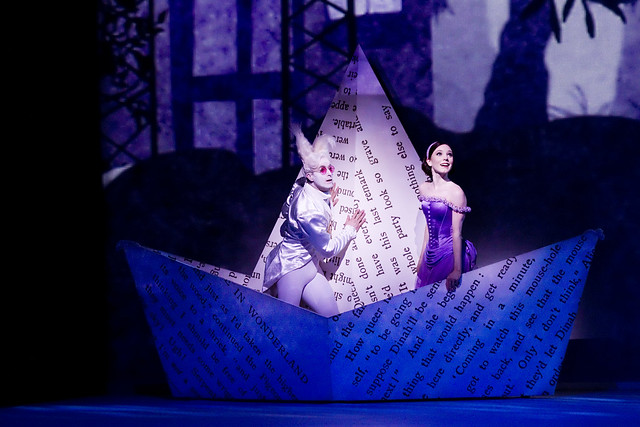 "Sarah Lamb as Alice, and Jonathan Howells in Christopher Wheeldon's Alice's Adventures in Wonderland.  The Royal Ballet 2010/11 season.  <a href=""http://www.roh.org.uk/productions/alices-adventures-in-wonderland-by-christopher-wheeldon"" rel=""nofollow"">www.roh.org.uk/productions/alices-adventures-in-wonderlan...</a>"