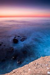 Sunset Cliffs [Explored 02/10/12] (Eddie 11uisma) Tags: california travel sunset vacation seascape beach golden san long exposure diego cliffs filter hour nd cokin zpro
