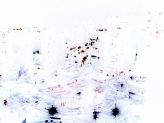 As luzes da cidade acesas (Marco Keppler) Tags: sopaulo terminalbandeira