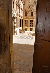 Behind the Doors (The Spirit of the World ( On and Off)) Tags: house doors middleeast courtyard syria aleppo historicalhouse arabspring mygearandme mygearandmepremium syrianlife