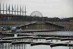 Empty Port (dayjolly) Tags: canada quebec montreal basilica biosphere oldport basilicanotredame