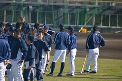 DSC_0726 (mechiko) Tags: 120205 横浜ベイスターズ 渡辺直人 横浜denaベイスターズ 2012春季キャンプ