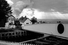 Swing bridge (newshot.) Tags: scotland dusk smoke atmosphere steam dramaticsky railways inverness signalbox lms enthusiasts highlandrailway steamrailways 45407 uksteam kessock blackfives westcoastrailways greatbritainiv railwayenvironment