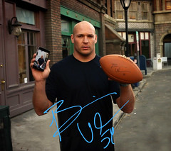 Brian Urlacher Wallpaper - Samsung Galaxy Note (SamsungMobileUSA) Tags: samsung smartphone superbowl tablet brianurlacher samsungmobile superbowl2012 galaxynote