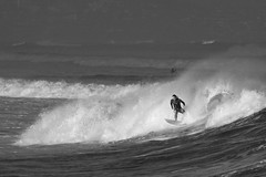 Surfing that wave... (HJN-76) Tags: hawaii surfer maui wavesurfing