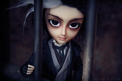Sweeney Tood_Session00_Prision03 (Amarie Photography ) Tags: street boy man hot make up dark fur toy one outfit doll handmade unique ooak version scene full clothes kind wig barber todd custom tae flint prision sheryl sweeney mueca assasin muneca amarie desings taeyang