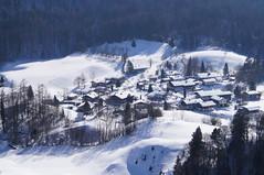 Achberg (Roland Henz) Tags: winter 2012 luftbild fliegen luftaufnahme motorsegler unterwssen dassu achberg 18022012