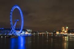 London Eye (Vortex Photography - Duncan Monk) Tags: houses london eye clock tourism westminster wheel thames night river big ben parliament bigben landmark ferris tourist ba iconic embankment attraction edf