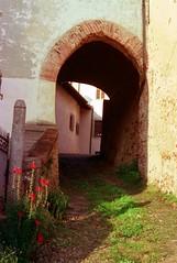 Arco d'ingresso al castello di Valdengo (Biella, Piedmont, Italy) (Luca La Grotta) Tags: primavera italia piemonte biella castello arco solaris valdengo ferrania industar50 zorki2c biellese lucalagrotta
