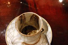 turkish coffee grounds (jodigreen) Tags: dumbass turkishcoffee fortunetelling tasseography beandip windsorpalace coffeegrounds