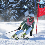 Frances MacDonald from the Grouse Tyee Ski Club finished 5th in the Girls K1 Kombi on Friday, April 6 PHOTO CREDIT: Logan Swayze - coastphoto.com
