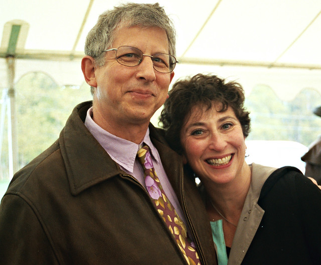 Professor Jim Tober and His Wife