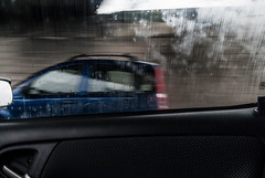 Sorpasso (Pompilio Valerio) Tags: blur car rain speed movimento pioggia macchina velocità pescara montesilvano