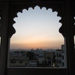 "Sunset in Udaipur <a style=""margin-left:10px; font-size:0.8em;"" href=""http://www.flickr.com/photos/14315427@N00/6934391827/"" target=""_blank"">@flickr</a>"