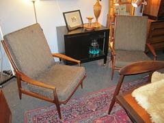 Beautiful Vintage Selig Chairs (Mod Livin') Tags: modern vintage design furniture danish eames midcenturymodern midcentury teak madmen heywoodwakefield selig risom midmod johnkeal