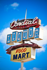 Cordial Liquor (TooMuchFire) Tags: signs typography signage type canon5d whittier typeface arrowsigns vintagesigns vintageneonsigns liquorstores vintagetype signporn liquorsigns vintagetypography lightroom3 neonporn toomuchfire cordialliquor 13330meyerrdwhittierca