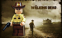 Rick Grimes - The Walking Dead (Fine Clonier) Tags: lego zombie rick minifig amc custom walkers officer minifigure thewalkingdead brickarms kaminoan fineclonier rickgrimes jaredburks jaredkburks wwwfinecloniercom