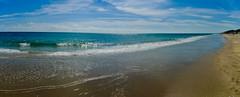 South Florida Beach - Digitally Stitched Panoramic; Florida, United States (hogophotoNY) Tags: ocean camera blue sky usa sun beach water digital sand waves unitedstates florida south sunny bluesky panoramic atlantic panasonic states february atlanticocean stitched eastcoast 2012 floridabeach floridausa hogo lx3 beachpanoramic floridaunitedstates dmclx3 panasoniclx3 hogophoto panasonicdmclx3 floridaus lx3camera february2012 panasoniclx3camera