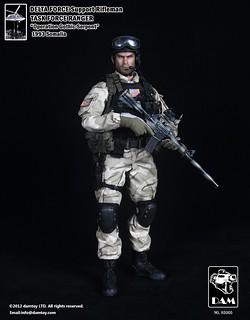 Dam Toy 美國特種三角洲部隊-支援步槍兵