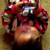 Im in trouble with another nerd in the house… #Geekgirl #baby #babygirl #APPLE #iphone #Geek