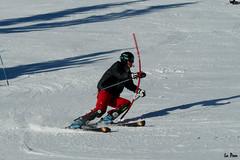 Comptiteur sur le Chamois (La Pom ) Tags: ski les bronze or du le mont blanc argent ecole slalom francais esf portes chamois combloux vermeil comptition jaillet cabru