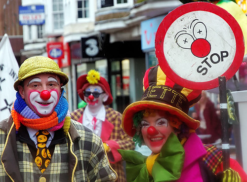 Clowns international - Sonny and Rainbow and Paliette