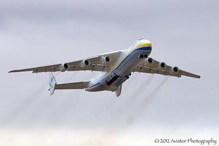 An-225 Mriya - Departure 3