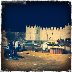 Jerusalem by night.