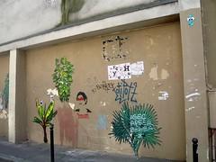 Space Invaders (Copycat) (Ausmoz) Tags: street urban streetart paris art wall tile mosaic copycat space spaceinvaders tiles installation invader walls rue mur mosaique murs invaders installations urbain 75011 mosaiques