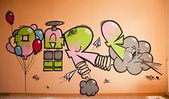 Tag nuage (B.RANZA) Tags: streetart graffiti tag trace urbanart histoire waste graff sanatorium hopital empreinte exil cmc patrimoine urbex disparition abandonedplace mémoire friche centremédicochirurgical