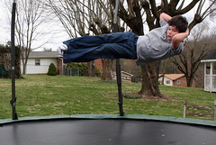 Stretched Out (Marlisa Osborne) Tags: trampoline