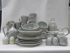 Set #1 (Ant Ware) Tags: ceramic ceramics handmade pottery dishes handbuild antware marienagy webpagenagy