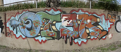 OTER 2009 (Reckless Artist) Tags: old panorama west art minnesota st wall paul photography graffiti midwest paint artist stitch graf north cement cities minneapolis twin fresh spray nd graff uc burner mn dakota 2009 fargo ots reckless jh reto oter syw wspr d2f unbuffed