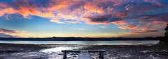 innovation (Kash Khastoui) Tags: sunset green canon point 50mm pano jetty nsw panaromic f12 kash khashayar khastoui