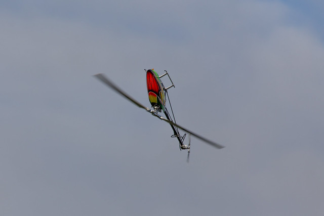 Dave flying his Align TREX700E