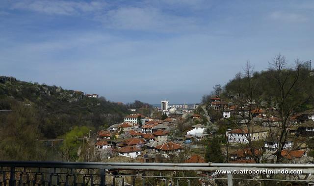 Llegando a Lovech