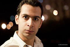 When Hassan goes angry! (Masoud K) Tags: iran bokeh tehran