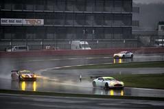 WEC - Silverstone 6 Hours - 20th April 2014 - Aston Martins and Ferrari at Brooklands (Trackside70) Tags: uk rain italia ferrari racing silverstone v8 astonmartin motorsport vantage sportscars gte wec f458 afcorse worldendurancechampionship silverstone6hours
