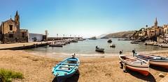 Isola di Lipari (KimiHory) Tags: summer port porto sicily sicilia eolie lipari iphone isole