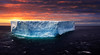 An Antarctic Sunset With Gigantic Tabular Iceberg :: HDR (:: Artie | Photography :: Travel ~ Oct) Tags: blue sea snow ice water canon frozen cloudy outdoor plateau foggy large dramatic floating antarctica stormy glacier waters layers iceberg shape gigantic flattop hdr antarctic drift freshwater artie openwater icemountain iceshelf 24105mm pressurized tabular glacialice iceisland 5dmarkiii 5dm3 steepsides