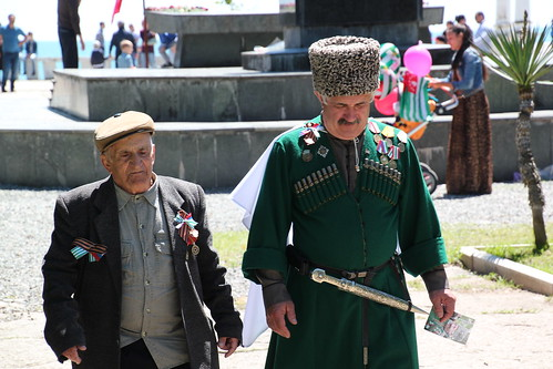 Victory Day in Sukhumi