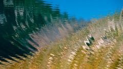 Abstrait  l'eau (Corinne Queme) Tags: summer mountain lake abstract france alps reflection water montagne alpes eau lac reflet t queyras abstrait ronds hautesalpes saintanne rises