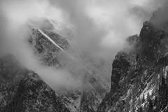 """Ambiance montagnarde (Isat"""") Tags: mountain alps nature montagne alpes noiretblanc nuage moutains"""