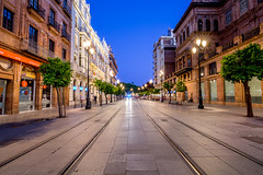 Sevilla Tram Lines (AlexanderCox.) Tags: sevilla seville