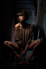(payalnic) Tags: light portrait loft dark nikon attik d600