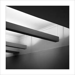 Línies de fuga / lines of flight (ximo rosell) Tags: light blackandwhite bw white blancoynegro luz architecture arquitectura nikon squares bn d750 llum cuadrado raco ximorosell