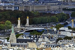 Pont Alexandre III (AntyDiluvian) Tags: trip bridge paris france tower seine eiffeltower pont placedelaconcorde ruederivoli pontalexandreiii 2015
