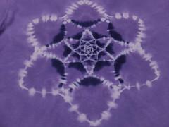 mandala shibori (asiadyer) Tags: japan japanese symmetry textile sacred tiedye dye dyeing psychedelic dyed shibori psychedelica sacredgeometry sarashi japanetsy shiboripsychedelic
